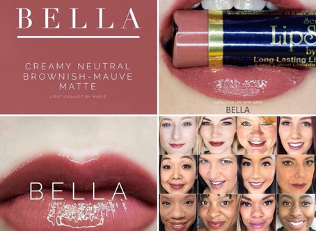 Colour of the week is Bella LipSense®️