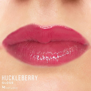 Golden berry LipSense and Huckleberry Gloss