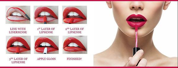 Independent Distributor of SheerSense - LipSense - Senegence - SheerSense Opportunity - Apply LipSense - Long lasting Lip colour - Mousturising Lip Colour - Water resistant - vegan