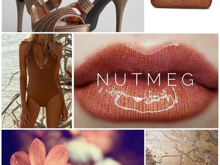 Colour of the week is Nutmeg LipSense®️