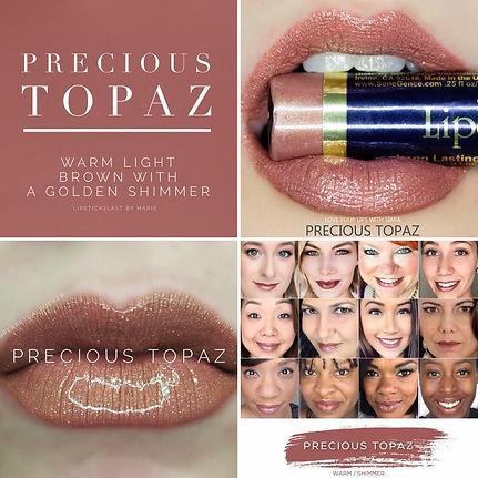 Precious Topaz LipSense - Independent Distributor of SheerSense - LipSense - Senegence - SheerSense Opportunity