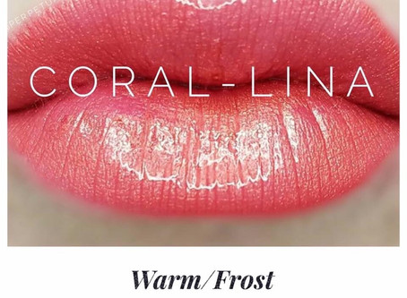 Coral-Lina LipSense®️ is colour of the week