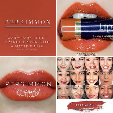 Persimmon LipSense Colour  - Independent Distributor of SheerSense - LipSense - Senegence - SheerSense Opportunity