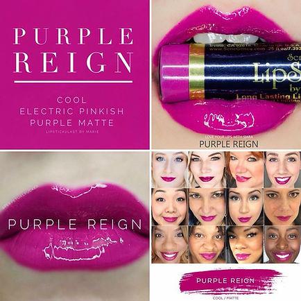 Purple Reign LipSense - Independent Distributor of SheerSense - LipSense - Senegence - SheerSense Opportunity
