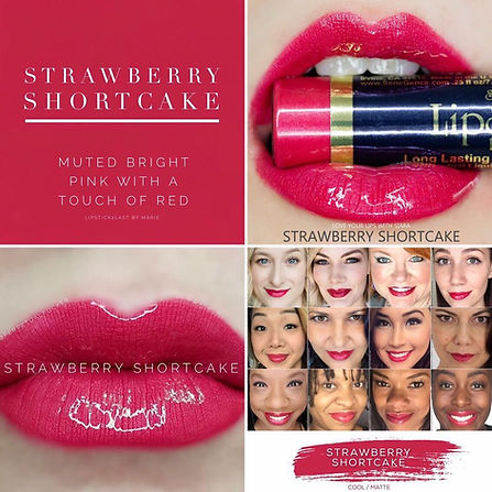 Strawberry Shortcake LipSense - Independent Distributor of SheerSense - LipSense - Senegence - SheerSense Opportunity