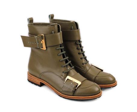 Olive Green Olga ABO Boots