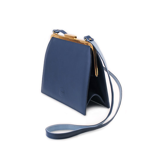 Navy Blue ABO Ivy Clutch Bag