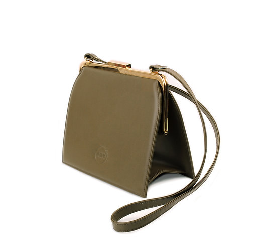 Olive Green ABO Ivy Clutch Bag
