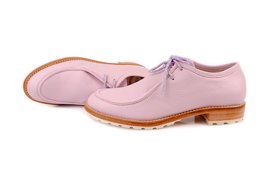 Candy Pink ABO Marlena Lace-Up Shoes
