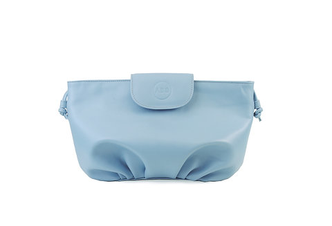 Light Blue ABO April soft clutch bag