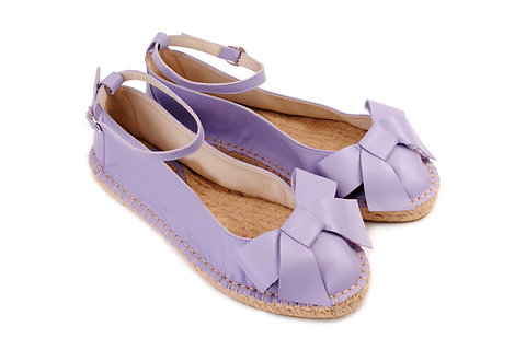 Light Lavender ABO Karmen Espadrilles