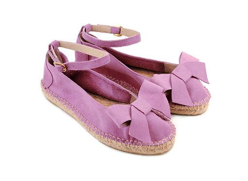 Lilac ABO Karmen Espadrilles (made to order)