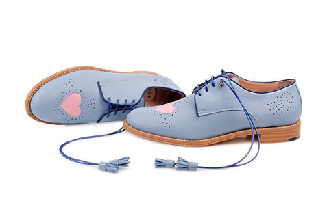 Blue Heart ABO Brogues (made to order)