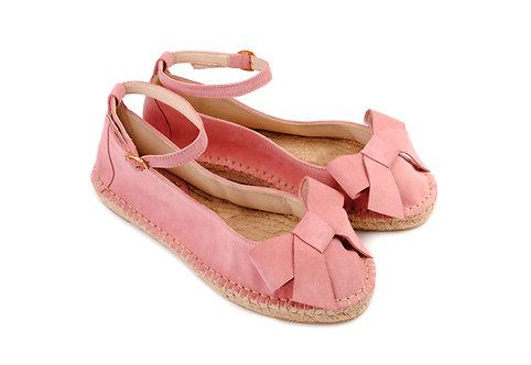 Pink Coral ABO Karmen Espadrilles