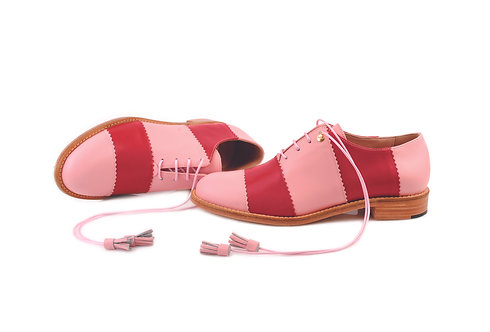 Pink & Red Candy ABO Shoes