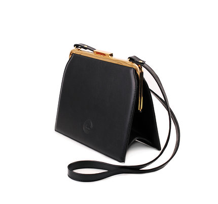Black ABO Ivy Clutch Bag