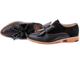 Rocco Pointed Toe Brogues