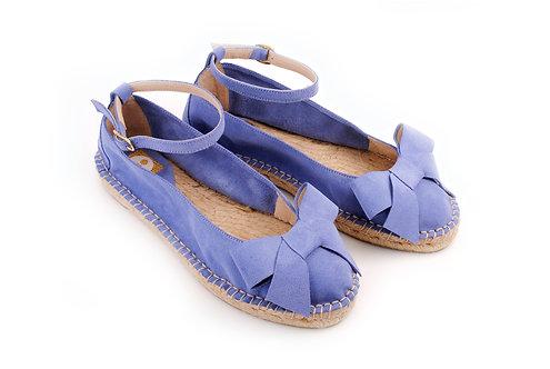 Violet-Blue ABO Karmen Espadrilles