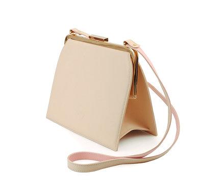 Cream ABO Ivy Clutch Bag