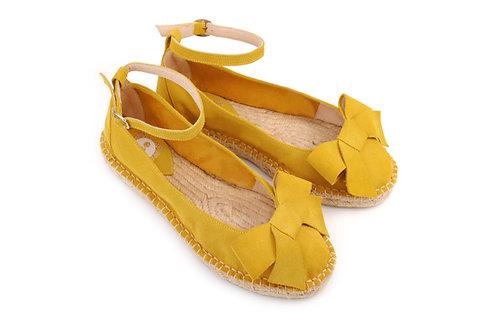 Yellow ABO Karmen Espadrilles (made to order)
