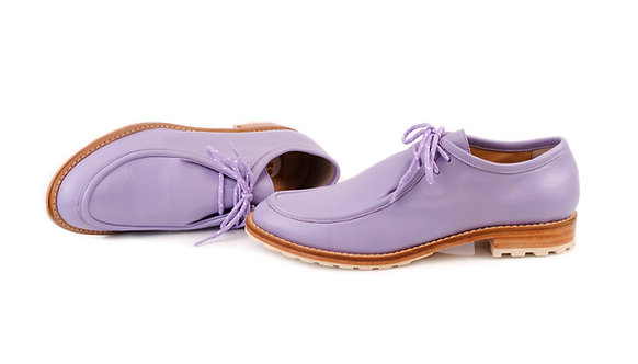 Lilac ABO Marlena Lace-Up Shoes