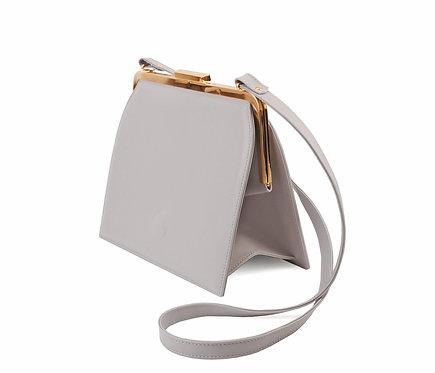 Light Grey ABO Ivy Clutch Bag