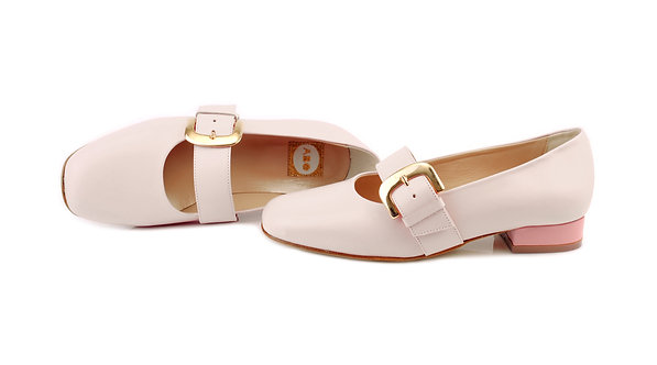 Creamy White ABO Dorothy Pumps (made to order)