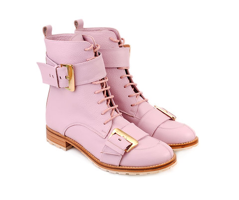 Candy Pink Olga ABO Boots
