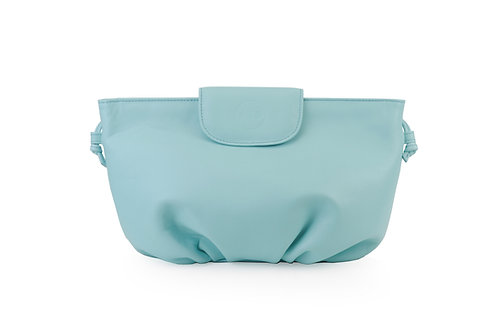 Turquoise ABO April soft clutch bag