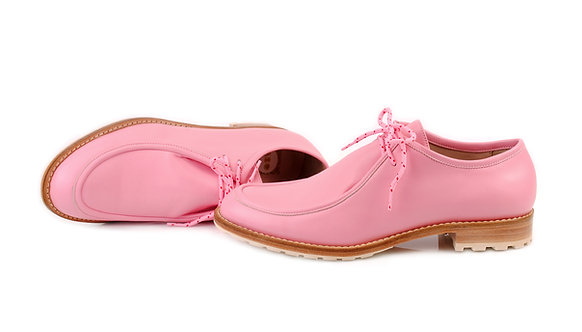 Pink ABO Marlena Lace-Up Shoes