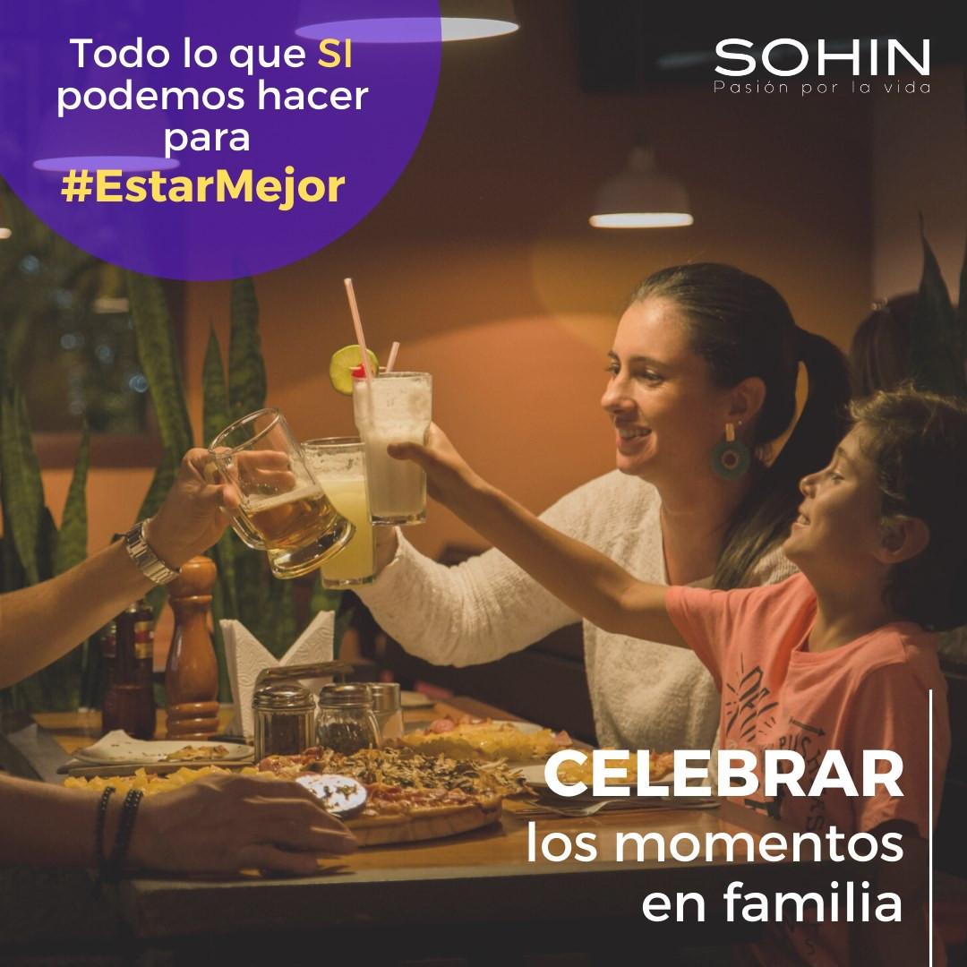Celebrar para #EstarMejor