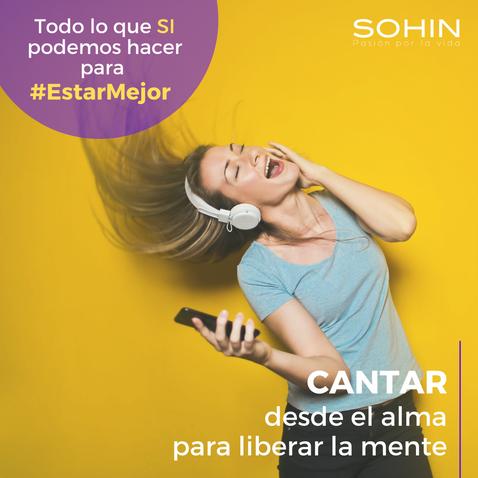 Cantar para #EstarMejor
