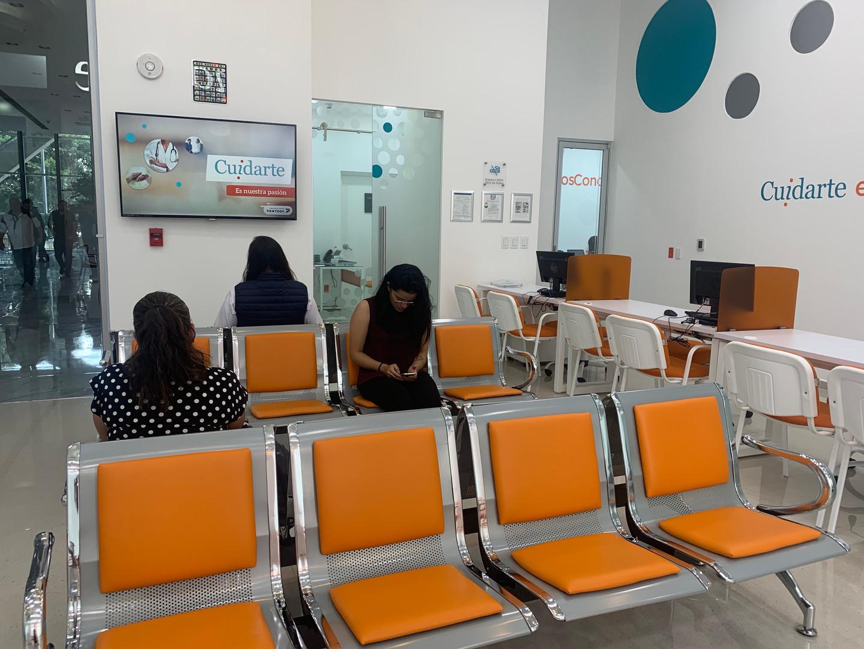 Sala de espera Cuidarte
