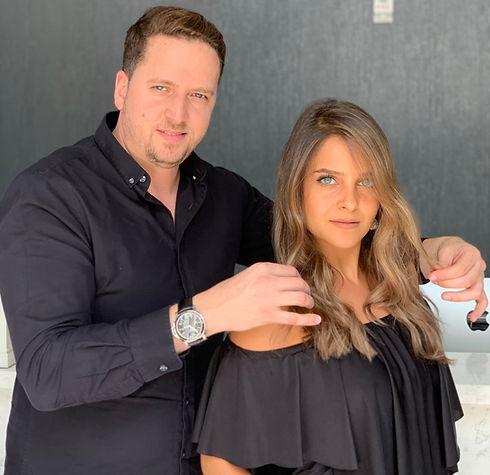 Oren Lankri hair style salon brazilian blowout