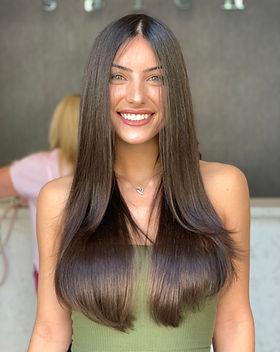 hair style salon brazilian blowout
