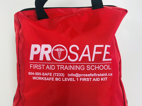 UPDATE: WorkSafeBC First Aid Kit (with 2020 updates)