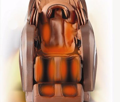 Weyron long roller coverage in the massage chair