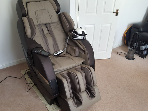 Weyron Monarch Massage Chair Installed in North London