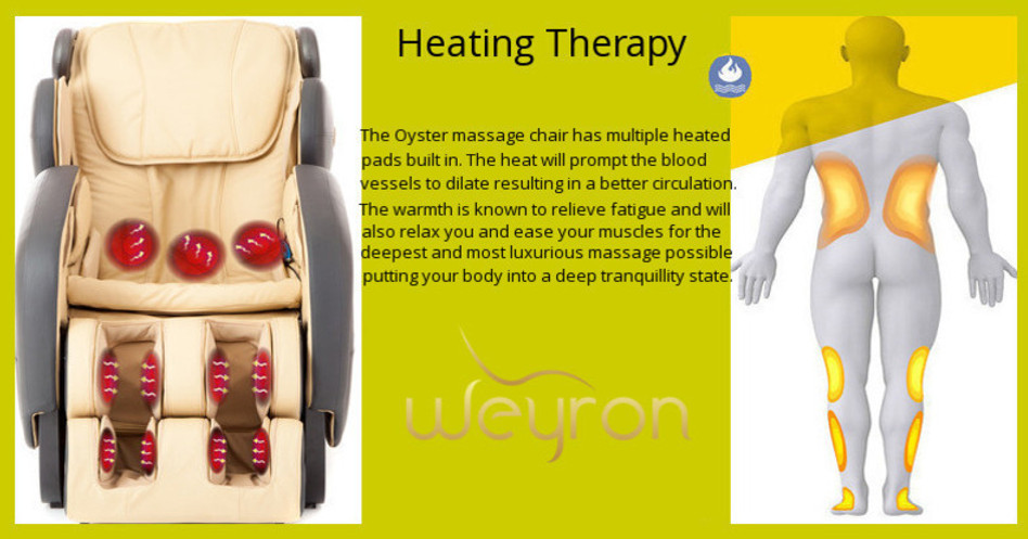 Weyron Oyster massage chair dimensions