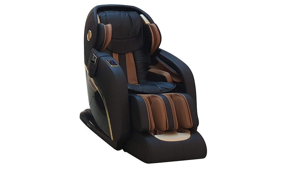King Royal Real Leather Massage Chair