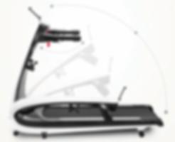 folding treadmill foldable small compact