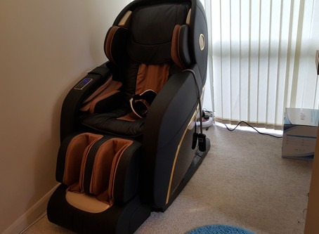 Weyron King Royal Massage Chair Installed in London