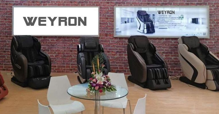 London massage chair showroom