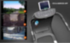 Treadmill app control smart