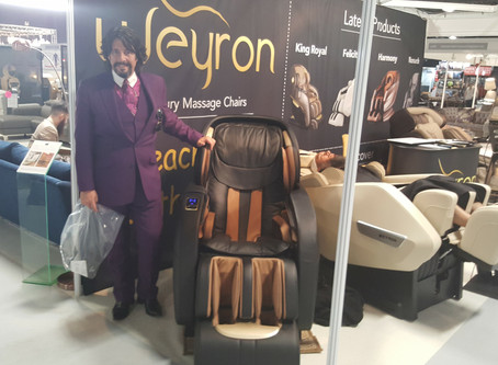 Laurence Llewelyn Bowen has the finest taste for design. He picked the Weyron King Royal massage cha