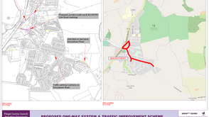 Balrothery Village One Way System Proposed