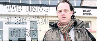 Niall Keady Balrothery School