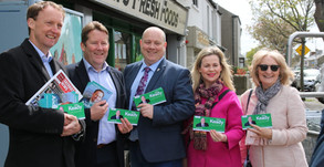 Keady Supports Euro-candidate Andrews On his Visit to North Fingal