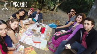 Agosto/2013 - Primeiro Veganic organizado pelo Maringá Vegano, realizado no Parque do Ingá