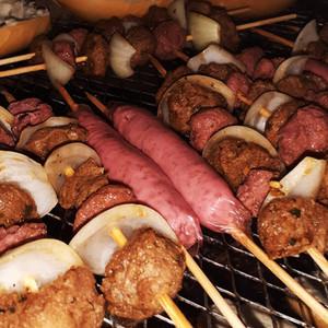 Churrasco de carne vegetal